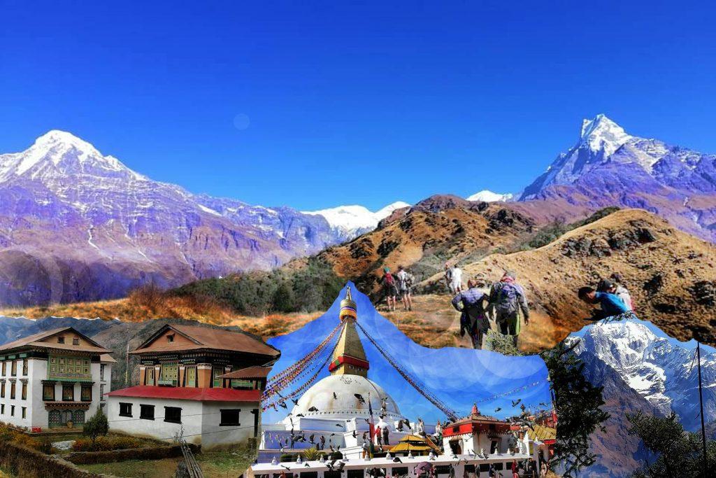 Trekking, The Annapurna Circuit In Nepal, Trek In Nepal